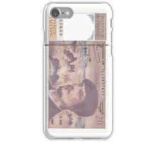 20 Old French Francs note -Front side iPhone Case/Skin