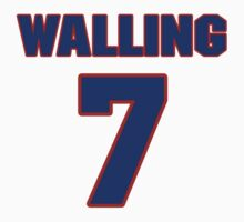 National baseball player Denny Walling jersey 7 by imsport