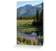 Mother Natures Mirror Greeting Card