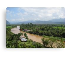 Nam Song River Canvas Print