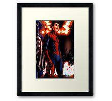 Spider-Man - civil war Framed Print