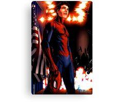 Spider-Man - civil war Canvas Print