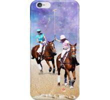 Horse Polo Beach Galaxy iPhone Case/Skin