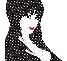 Elvira (Halftones) by Numnizzle