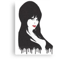 Elvira (Halftones) Canvas Print