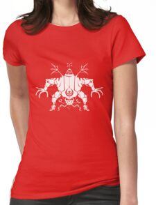 Killbot 04 - Psiclops and CRABS Womens Fitted T-Shirt