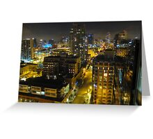 San Diego from the sky ll Greeting Card