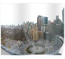 Columbus Circle, NYC Poster