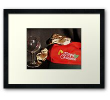 Serves You Right For Drinking All The Wine... -Duck Wing Chicks - NZ Framed Print
