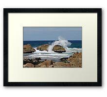Clinton Rocks II Framed Print