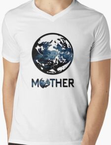 Earthbound Logo Mens V-Neck T-Shirt