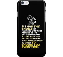 Words of love iPhone Case/Skin