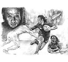 Tana Umaga New Zealand Rugby legend Photographic Print
