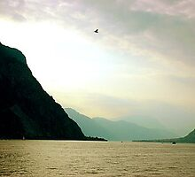 Lake Como (Milan) by Aiwei Yu