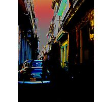 Backstreets Photographic Print