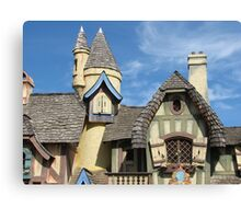 Funky Roofs Canvas Print