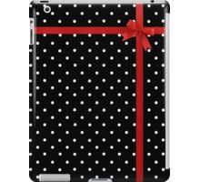 Polka Dot Ribbon iPad Case/Skin
