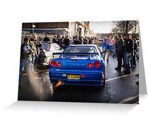 Nissan Skyline GTR Greeting Card