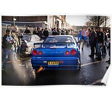 Nissan Skyline GTR Poster