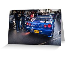 Nissan Skyline GTR 2 Greeting Card