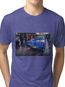 Nissan Skyline GTR 2 Tri-blend T-Shirt