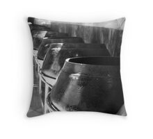 100 Bowls Throw Pillow