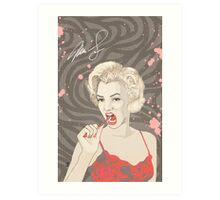 We Are All Marilyn Monroes by Pepe Psyche Art Print