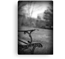 Peaceful Conversation Canvas Print