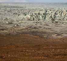 Ice meets Earth by karenhulse