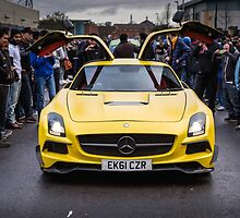 Mercedes SLS AMG  by RossJukesAuto