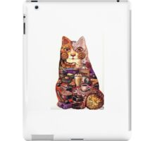 breakfast cat iPad Case/Skin