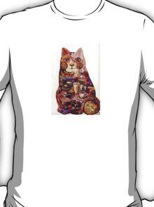breakfast cat T-Shirt