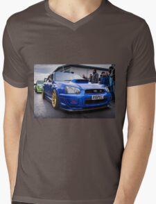 Subaru WRC Mens V-Neck T-Shirt
