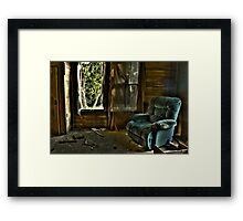 Recliner Memories Framed Print