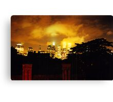 Twin Towers 1999 Canvas Print
