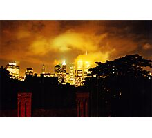 Twin Towers 1999 Photographic Print