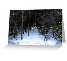 Trails to Heaven Greeting Card