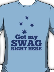GOT MY SWAG right here in blue with Australian Southern Cross T-Shirt