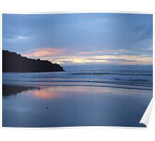 Borneo sunset Poster