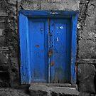 Blue Door In The Castle by Josh Wentz