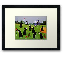 Fairway to Heaven Framed Print