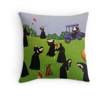 Fairway to Heaven Throw Pillow