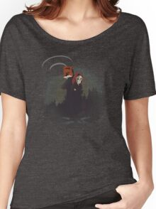 Fox and Skully Women's Relaxed Fit T-Shirt