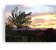 Chico Sunset III Canvas Print