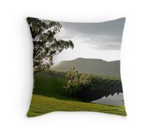 After the Storm # 1 - Audrey Wilkinson Vineyard- Hunter Valley, Australia Throw Pillow