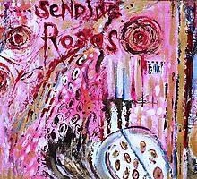 SENDING ROSES by Redlady