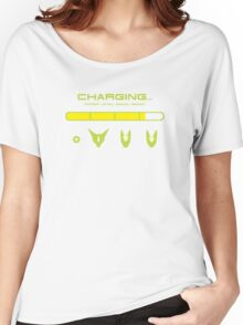 CHARGING CELL Women's Relaxed Fit T-Shirt