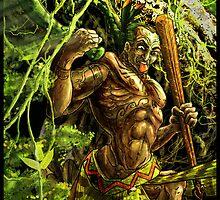Maori Warrior by Evan Lole