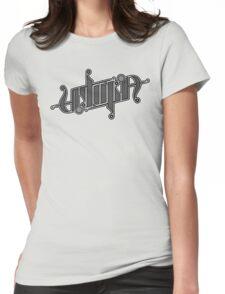 Utopia Ambigram Womens Fitted T-Shirt
