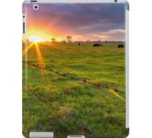 Rural Sunset... iPad Case/Skin